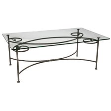 Leaf Coffee Table by Stone County Ironworks