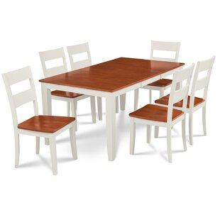 Charlestown 7 Piece HardSolid Wood Dining..