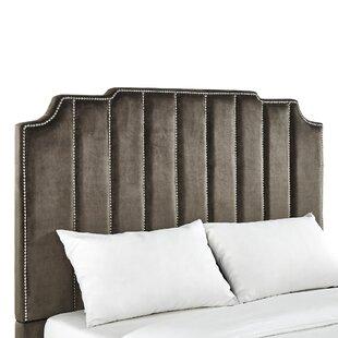Elof Velvet Upholstered Panel Headboard