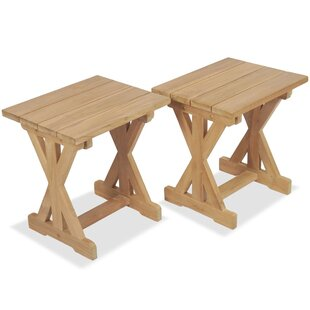 Call Teak Side Table (Set Of 2) By Sol 72 Outdoor
