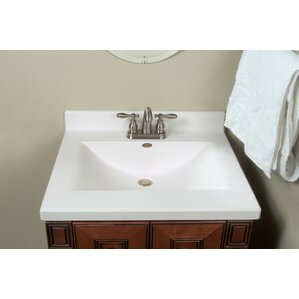 center wave bowl 25 single bathroom vanity top