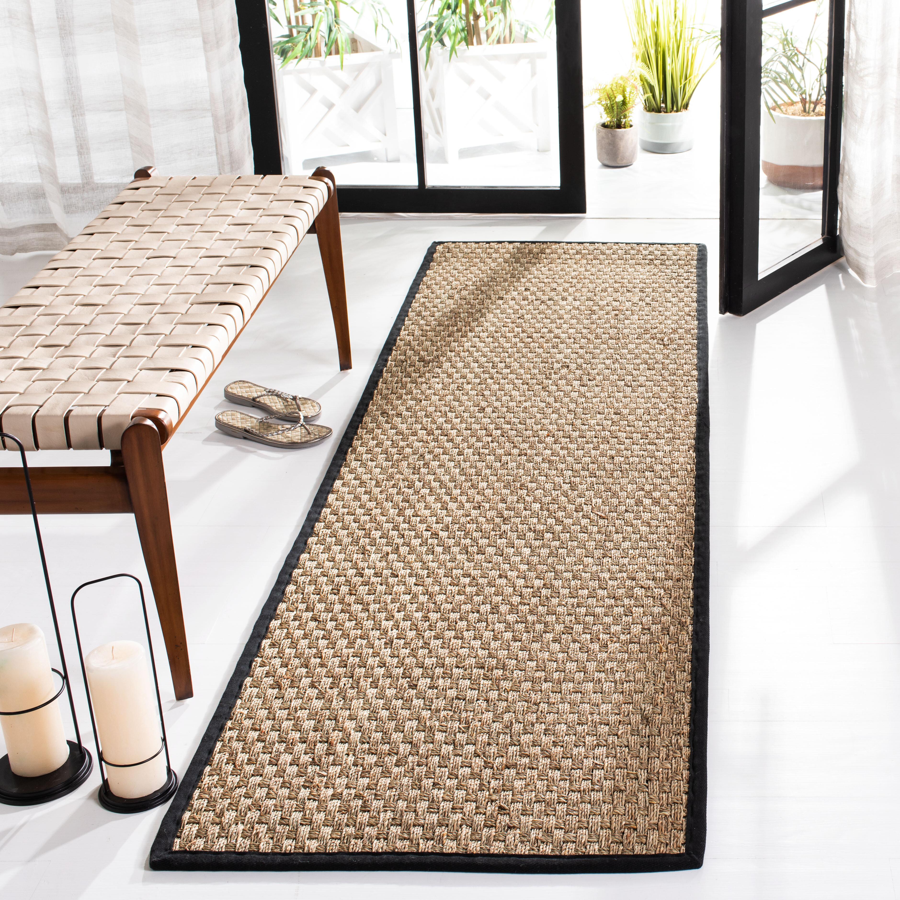 Beachcrest Home Delapena Hooked Natural Black Rug Wayfair Co Uk