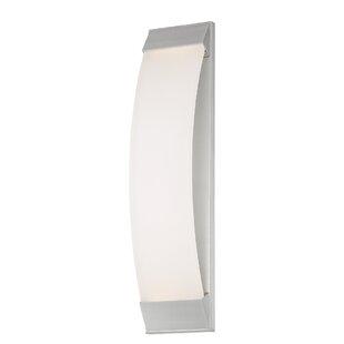 Affordable Roenker 1 Light LED Outdoor Sconce By Orren Ellis
