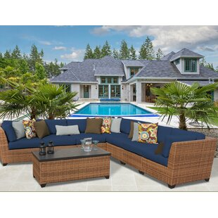 Rosecliff Heights East Village 8 Piece Sectional Set with Cushions