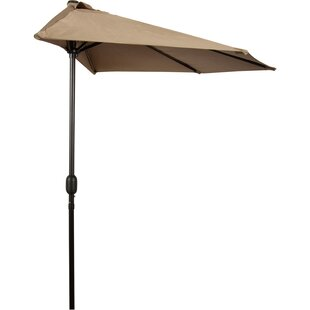 9' Half Market Umbrella by Trademark Innovations