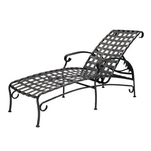 Ramsgate Adjustable Chaise Lounge by Woodard 2019 Coupon