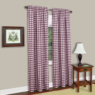 Red Buffalo Plaid Curtains | Wayfair