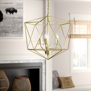 Todd 3-Light Geometric Chandelier
