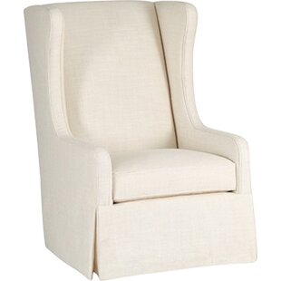 Reagan Swivel Wingback Chair  by Gabby