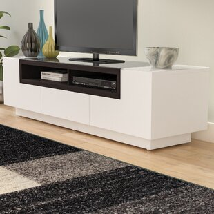 Look for Chapman TV Stand for TVs up to 65 by Wade Logan Reviews (2019) & Buyer's Guide
