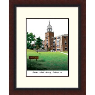 NCAA Southern Illinois Salukis Legacy Alumnus Lithograph Picture Frame By Campus Images