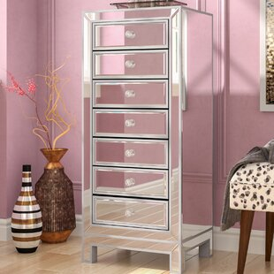 Mariaella 7 Drawer Lingerie Chest with Mirror