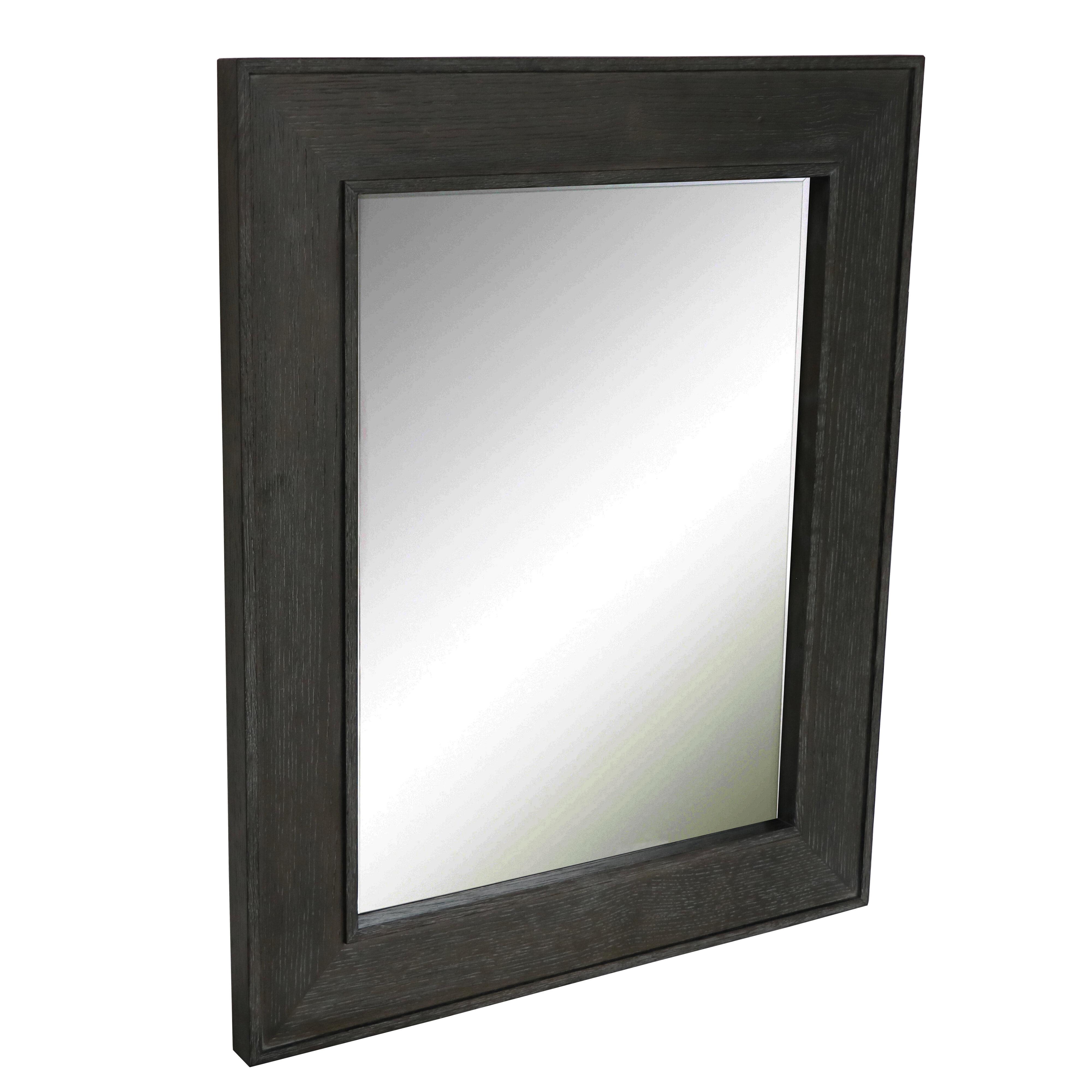Latitude Run Rustic Distressed Bathroom Mirror Wayfair