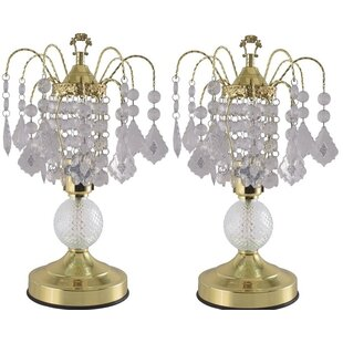 Arledge Glass Touch 15 Table Lamp (Set of 2)