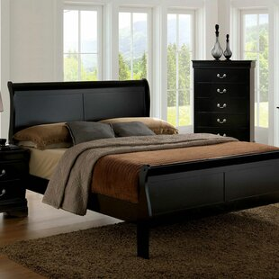 Poulos Sleigh Bed