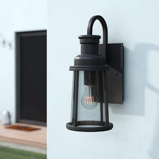 Great deal Cascades 1-Light 100W Outdoor Wall Lantern By Trent Austin Design