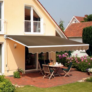 Retractable Door Awning by..