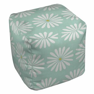 Jar of Sunshine Vintage Daisy Pouf by Manual Woodworkers & Weavers
