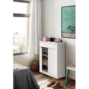 Berlin 20 Pair Shoe Storage Cabinet By Ebern Designs