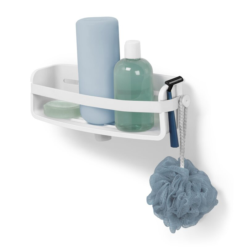 Flex Plastic Suction Shower Caddy & Reviews | AllModern