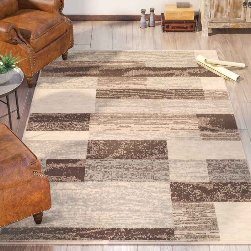 Trent Austin Design Valenti Rockwood Geometric Power Loom Slate Rug Reviews Wayfair
