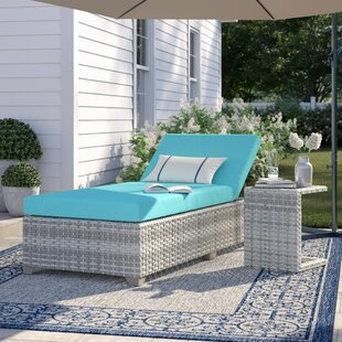 Falmouth Reclining Lounge With Cushion And Table by Sol 72 Outdoor Best #1