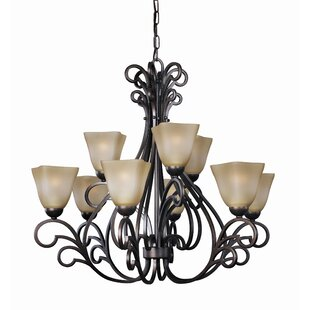Woodbridge Lighting Palermo 9-Light Shaded Chandelier