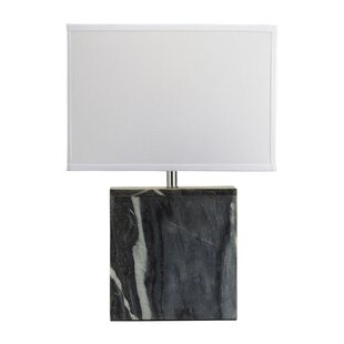 Tynan Marble Square LED 20 Table Lamp