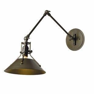 Hubbardton Forge Henry 1-Light Swing Arm