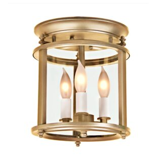 JVI Designs Murray Hill 3-Light Flush Mount