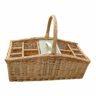 Large Drink Wine Basket With Cool Bag By Brambly Cottage