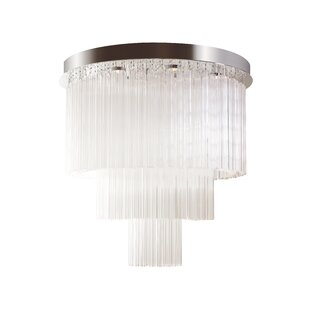 Orren Ellis Rademacher 13-Light LED Flush Mount