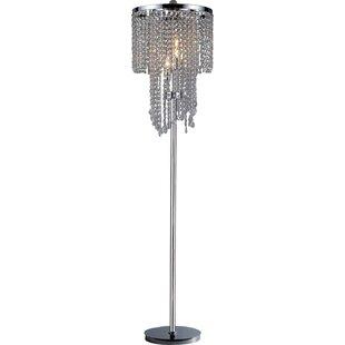Online Reviews Karole 63 Candelabra Floor Lamp By House of Hampton