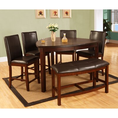 Awe Inspiring Emilio 6 Piece Counter Height Dining Set Darby Home Co Alphanode Cool Chair Designs And Ideas Alphanodeonline
