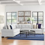 Willia Symmetrical Buttoned Sectional by Three Posts