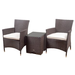 Bellfield 3 Piece Conversation Set with Cushions