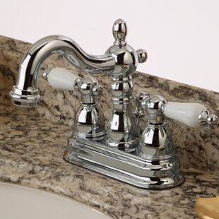 Find the perfect Heritage Centerset Bathroom Faucet with ABS Pop-Up Drain By Kingston Brass