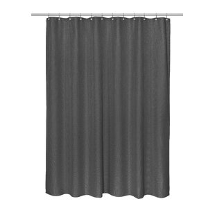c5611eb68a0 Black Shower Curtains You'll Love | Wayfair