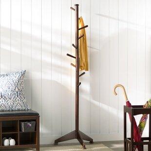 Charlton Home Lily Tree 9 Pegs Coat Rack