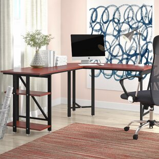Sherlene L-Shape Computer Desk by Latitude Run Today Sale Only