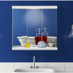 Stansell 60cm W X 58cm H Mirrored Cabinet By Mercury Row