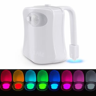 Imperial Home LED Motion Activated Toilet Bowl Night Light