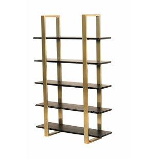 Bertram Modern 5 Tier Etagere Bookcase