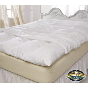 Zip Closure Feather Mattress Protector by Alwyn Home
