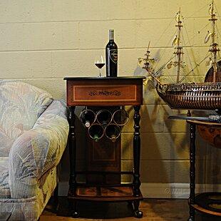 5 Bottle Floor Wine Rack by Old Modern Ha..