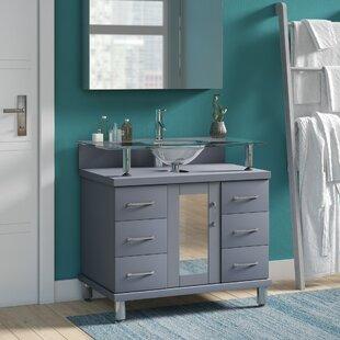 Compare & Buy Runge 36 Single Bathroom Vanity Set ByLatitude Run