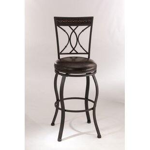 Galan 26 Swivel Bar Stool Winston Porter