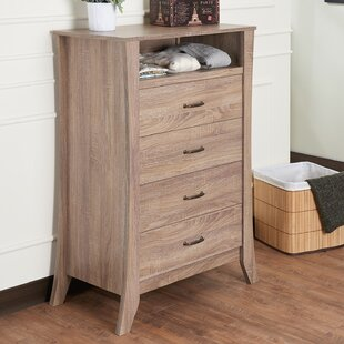 Sylvan Place Contemporary 4 Drawer Standard Chest by Latitude Run
