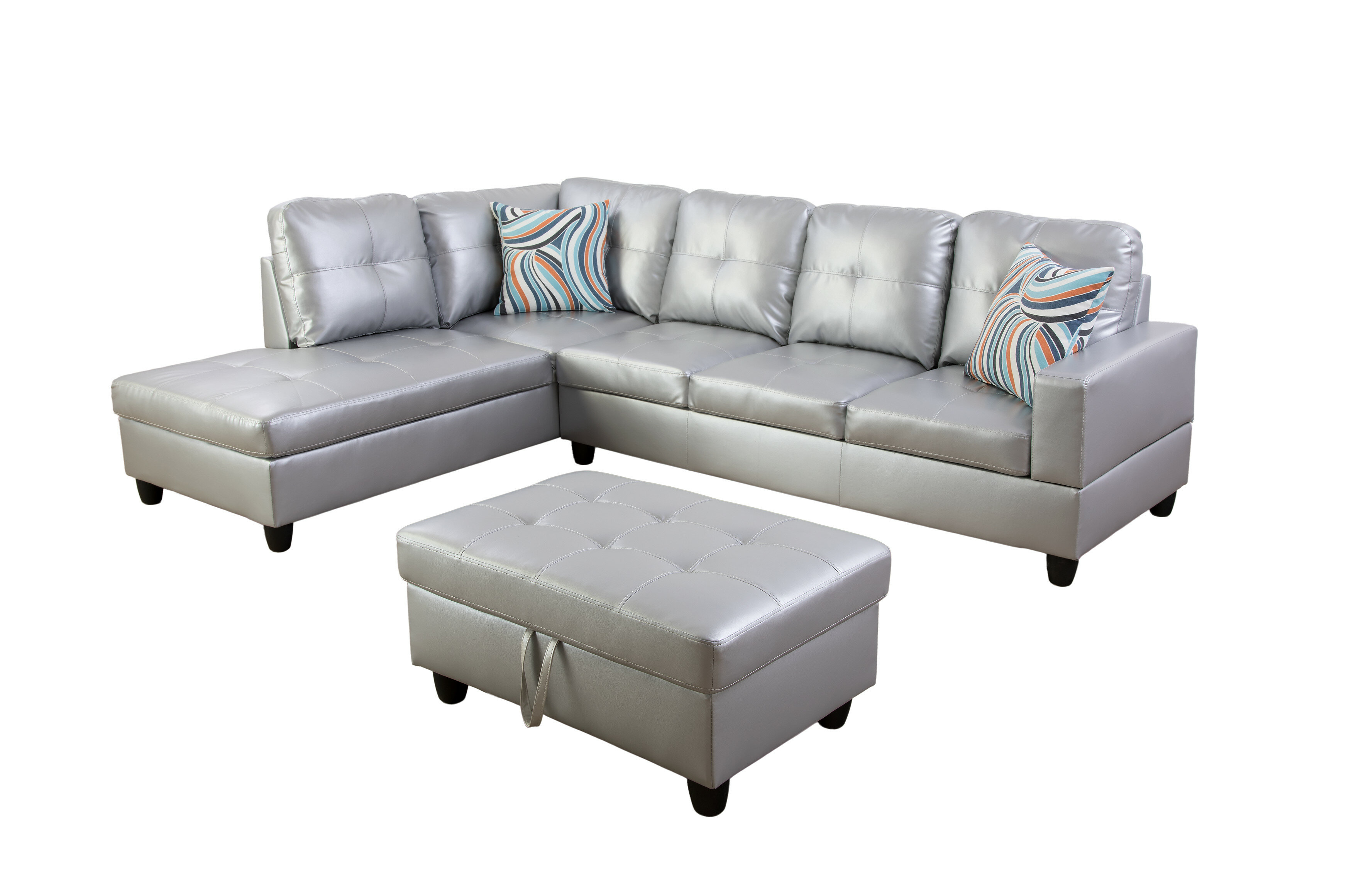 Miraculous Russ Sectional With Ottoman Alphanode Cool Chair Designs And Ideas Alphanodeonline
