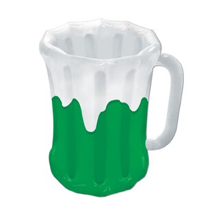 24 Can Inflatable Beer Mug Cooler